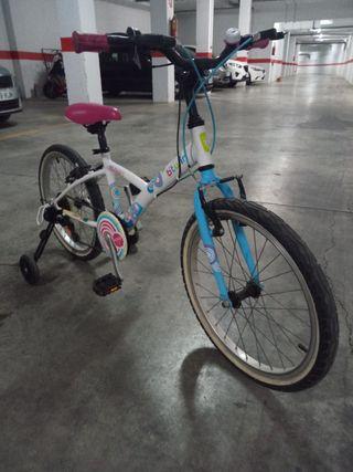 bicicleta niña btwin