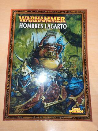 Warhammer fantasy hombres lagarto