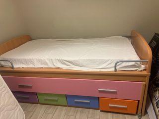 (Precio negociable) Dormitorio juvenil completo