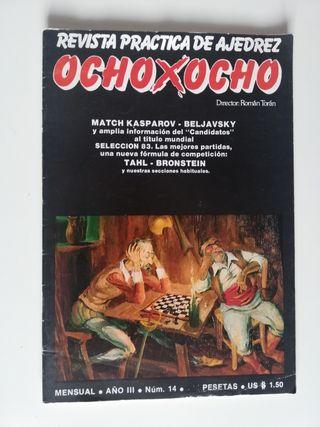 Revista de ajedrez antigua.