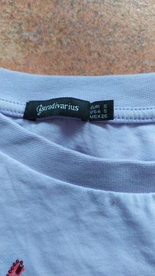 camiseta del Stradivarius talla s m