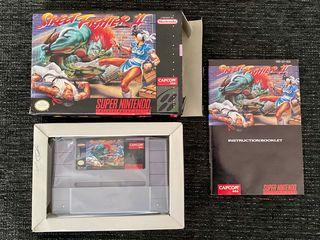 Juego STREET FIGHTER II SNES USA NTSC