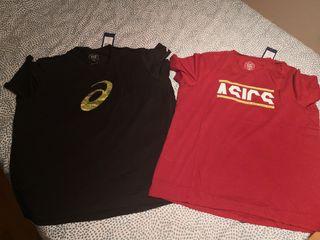 2 camisetas asics xxl