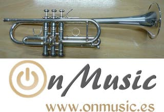 Trompeta Do Stomvi Mahler Titanium plateada