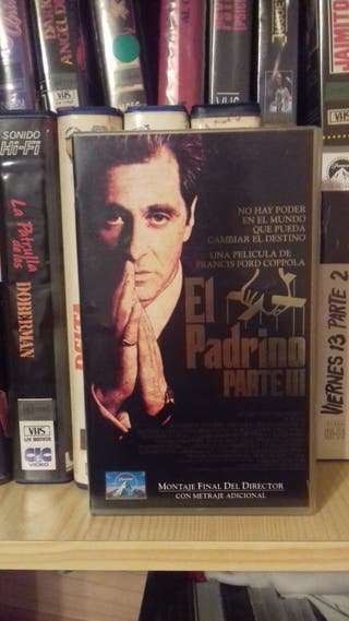 El Padrino Parte 3 VHS
