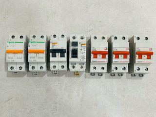 Interruptores o Automáticos para cuadro eléctrico