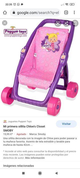 carro muñecas