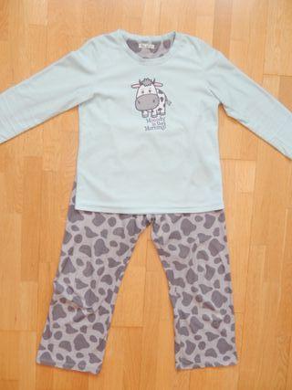 Pijama vaca para chica mujer. Talla 38-40