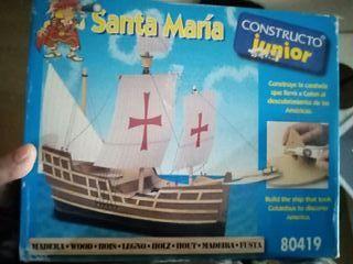 Maqueta Santa María junior