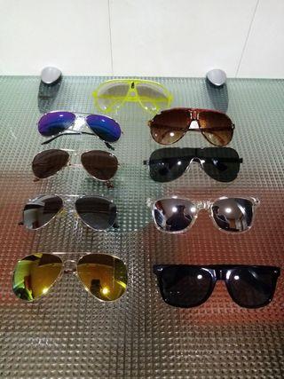 Pack 9 gafas de sol hombre