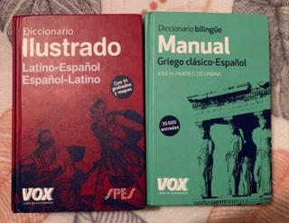 Diccionario español-latino y español-griego