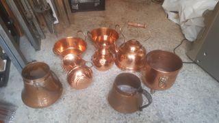 calderos de cobre