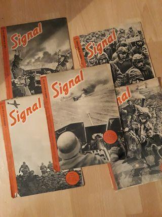 AÑOS 1941-42 LOTE 13 REVISTAS SIGNAL