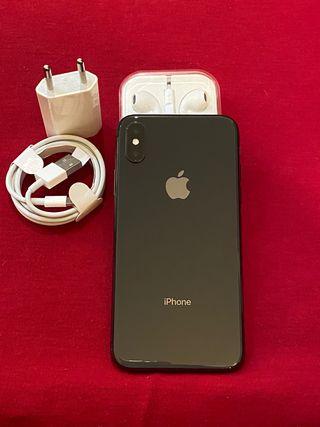 iPhone X 64gb Negro 100% batería Garantía