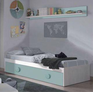 Conjunto cama nido + leja SNUBA