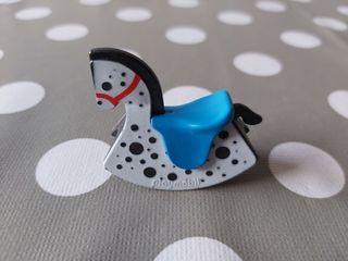 Playmobil n°63 caballo balancín navidad