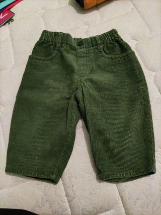 Pantalón tipo pana