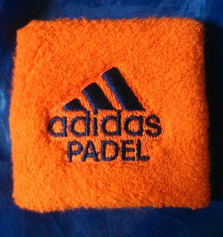 Muñequera Adidas Naranja Padel