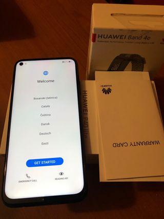 Huawei P40 LITE 4G, Negro, 128 GB, 6 GB