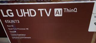 LG smart tv 65 pulgadas a estrenar