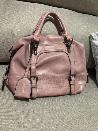 Bolso rosa pequeño