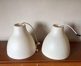 2 lámparas de techo Ikea