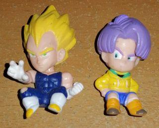 Dragon Ball figuras Vegetta y Trunks