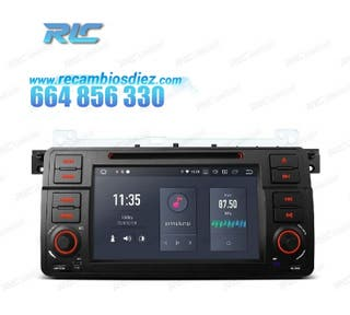 RADIO GPS ANDROID 10 BMW E46 (98-05)