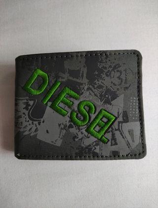 Cartera de Diesel Gris