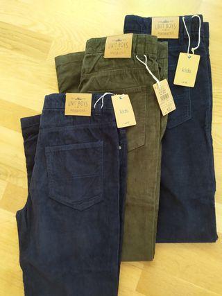 Pantalón pana (3 piezas)