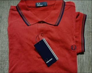 Fred Perry Rojo