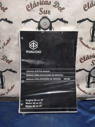 gilera 50 4 tiempos manual taller recambio
