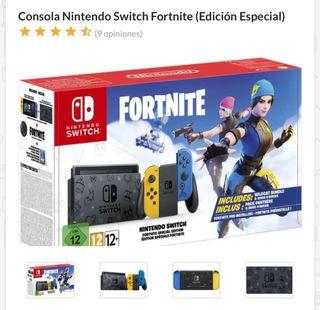 Nintendo Switch FORNITE con 3 meses de uso.