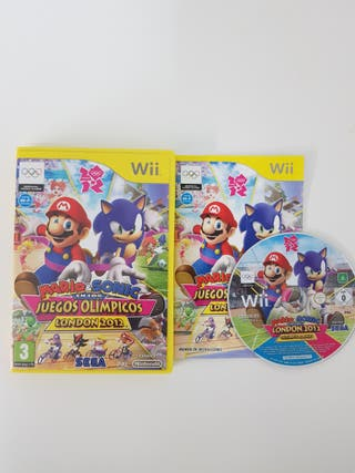 Mario & Sonic Juegos Olimpicos 2012 Wii