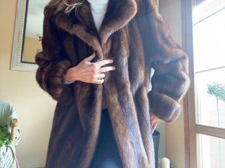 Abrigo piel vison