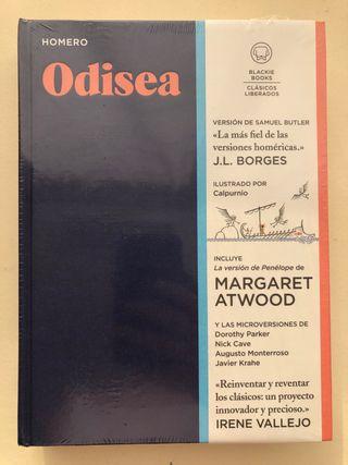 Libro Odisea, de Homero