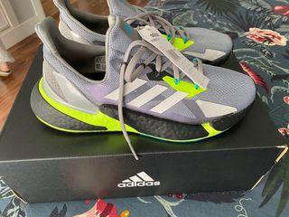 Adidas X9000L4 Gris / Flúor