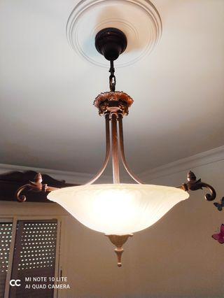Juego lámpara dormitorio
