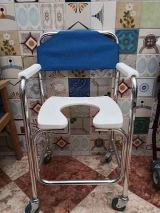 Silla WC/Ducha - SIN USAR