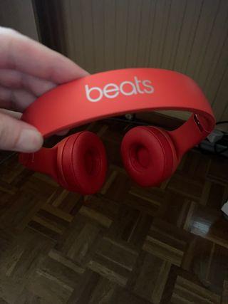 Auriculares beats solo 3 rojos