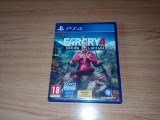 juego playstation PS4 Farcry4