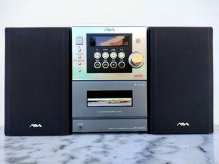 Microcadena Hi-Fi AIWA 60W CD Radio FM-AM Casete