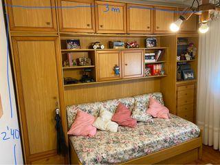 Habitación completa de madera