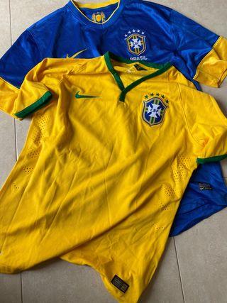 Camisetas seleccion brasileña