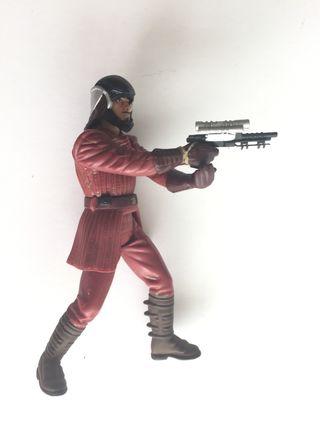 Kenner. Star Wars Figura de soldado de Naboo.