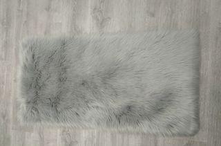 ALFOMBRA GRIS 120X60cm