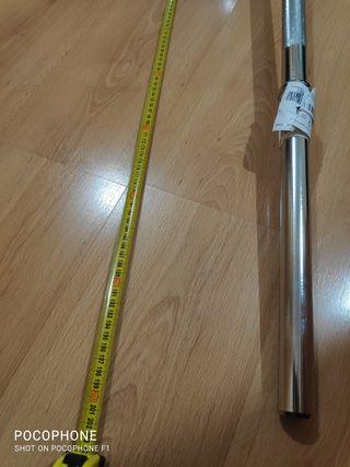barra domyos 2 metros 10 kilos 28 mm