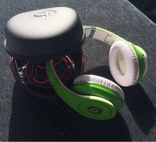 Beats by DrDre cascos verdes
