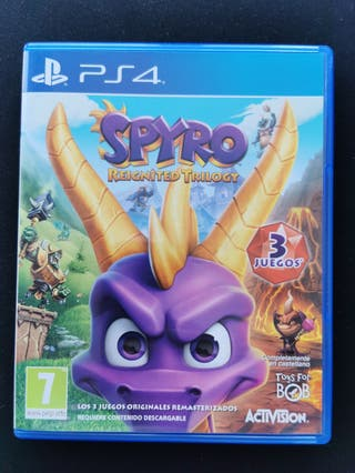 Spyro Reignited Trilogy PS4 y PS5