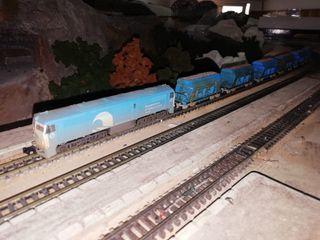 """Composicion Locomotora diesel 321 """"Mantenimiento"""""""
